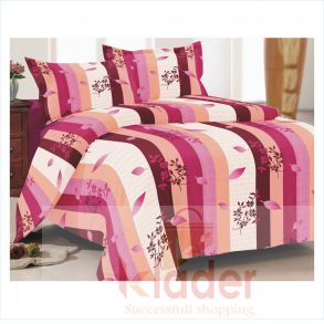 cotton bed sheet and pillow covers design 2
