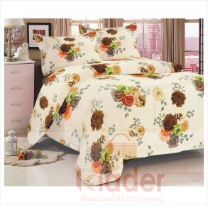 cotton bed sheet and pillow covers design 3