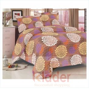 cotton bed sheet and pillow covers design 4