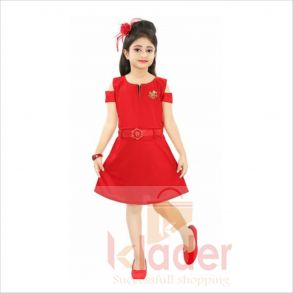 STYLISH JUNCTION PARTY WEAR RED