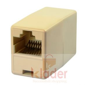 RJ 45 Female To Female Lan Cable Jointer