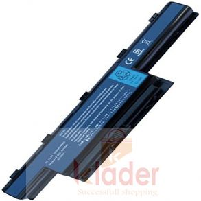 Compatible Replacement Battery for Acer Aspire 4741 Black 6 Cell