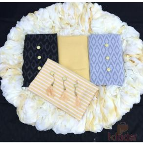 3 top lakada and cotton suit