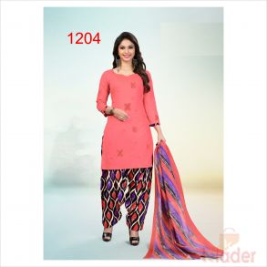 cottonn print churidhar 1204