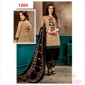 cottonn print churidhar 1203