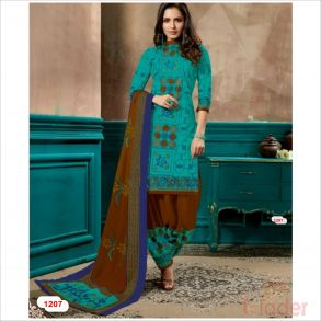 cottonn print churidhar DESIHN NO 1207