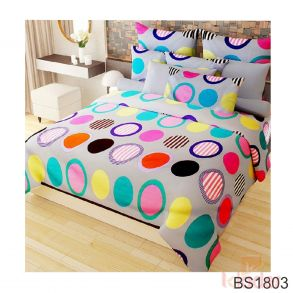 Poly Cotton Double Bedsheet...