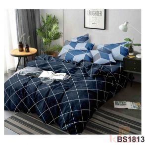 Glace Cotton Bedsheet 90 90 Double