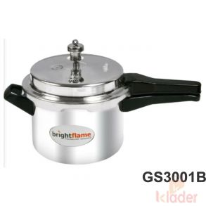 Aluminum Cooker Without Induction Base 3 Litre