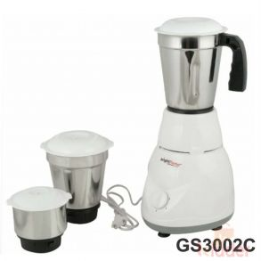 ABS Plastic Mixer Grinder 1 Year Warranty