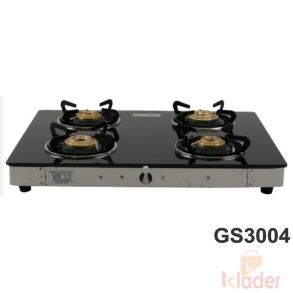 Automatic Gas Stove Brass Burner Material 1 year Warranty