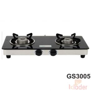 Manual Gas Stove Alloy Burner Material 1 Years Warranty