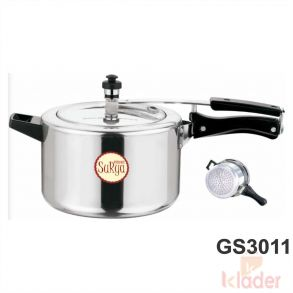 Aluminum Cooker With induction Base 5 Litre Capacity 5 Year Warranty