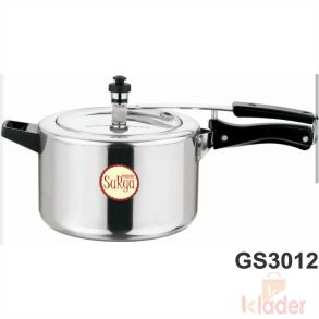 Aluminum Cooker Without induction Base 5 Litre Capacity 5 Year Warranty