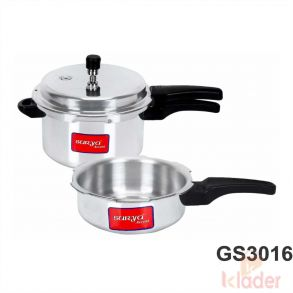 Induction Friendly Pressure Cooker 1 Year Warranty
