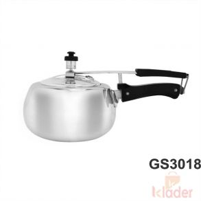 Aluminium Pressure Cooker 5 litre capacity With Induction Base