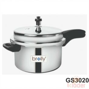 Stainless Steel Pressure Cooker 5 Liter Capacity With induction Base