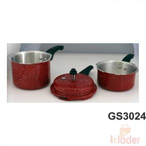 Aluminum Cooker 3 Litre 2 Litre Capacity With induction Base 5 Year Warranty