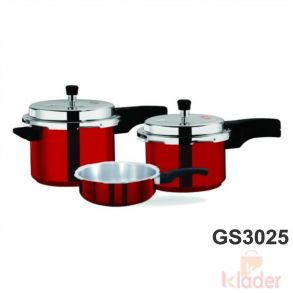 Aluminum Cooker With induction Base 2 Litre 3 Litre 5 Litre Capacity