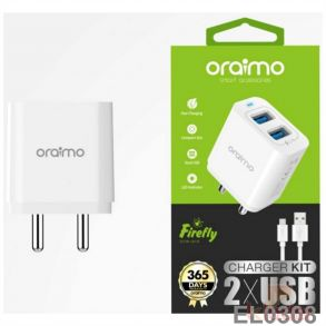 Oramio Charger 61d with 1 mtr Cable with 1 Year Warranty