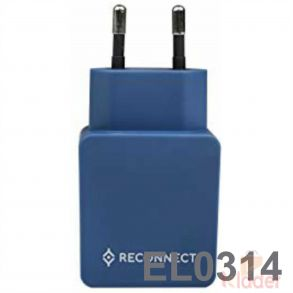 Reconnect Dual USB Wall Charger MUA 2 4A 2U WRF
