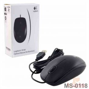 Logitech B100 USB Optical Mouse Original 1 Year Warranty
