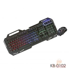 Tag Avenger Gaming Keyboard and Mouse Combo Wired KIT with Lighting