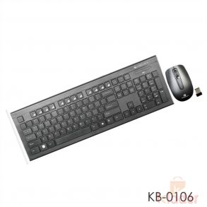 Zebronics Companion 103 Wireless Combo Keyboard and Mouse