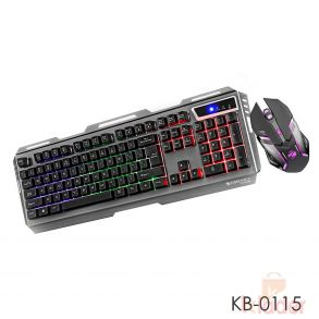 Zebronics Transformer Premium Gaming Keyboard mouse Wired with lighting
