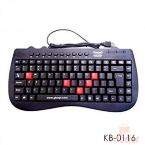 Quantum QHMPL 7309 USB Desktop Keyboard Multimedia Mini Keyboard