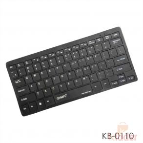 Quantum QHM 7307 USB Keyboard Multimedia Mini Keyboard