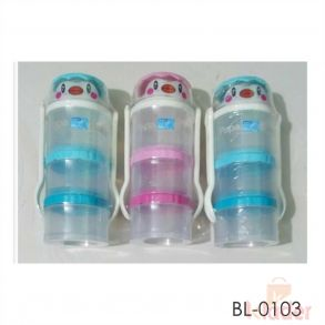 Kids Container Bottle With Spoon Fok