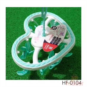 Kids imported clothes hanger heart flower shape