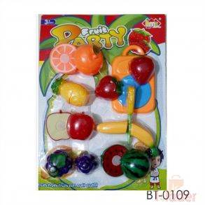 Kids Fruit Party Toys Food Grade Material