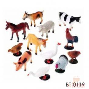 Baby Non Toxic Farm Animals Gift Toy
