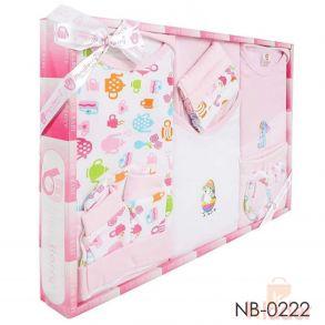 Mini Berry New Born baby pure cotton cloth gift set