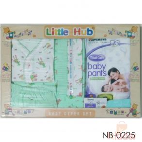 New Born Baby infant gift set with baby dyper set