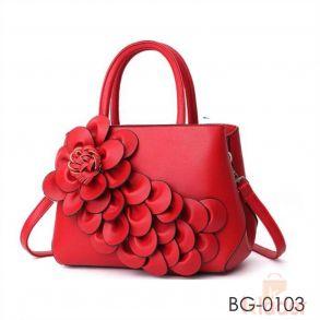 Beautiful flower design Hand held Bag