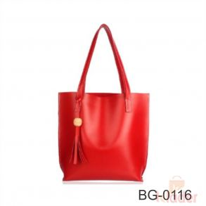 Tote Hand Bag Mixed and assorted colors Without Zip...