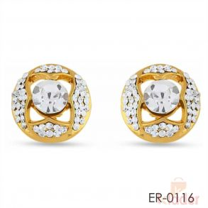 Rich Lady Stunning Design For Party Wear Top Earrings