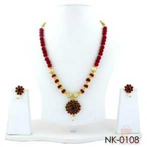 Jewellery Party Wear Necklace Set with Earing