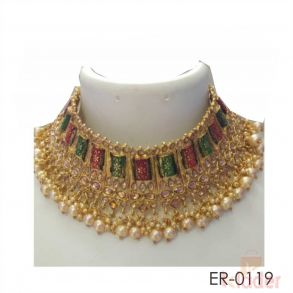 Women Necklace Set Chokker