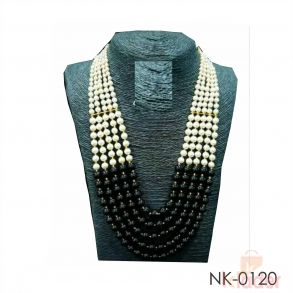5 Layered Beads Necklace Set