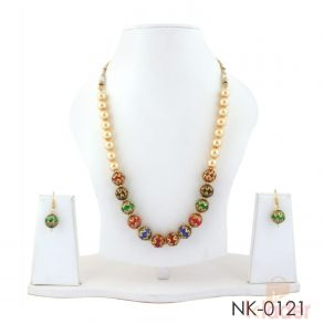 Party Wear Neclace Set with Earrings