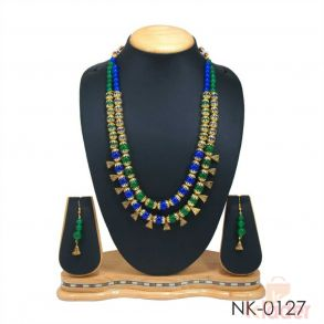 FANCY NECKLACE SET WITH EARRINGS