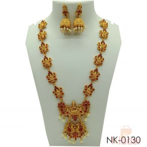 Lakshmi Mala Necklace Set