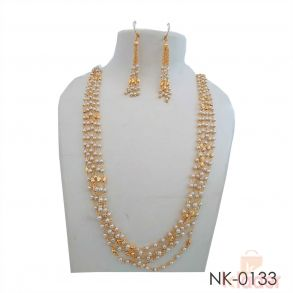 Party Wear Necklace With Earring for Women Girls