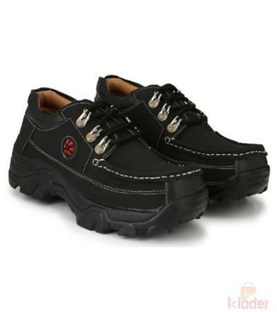 Shoematic woodland Black Outdoor shoes for men