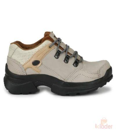 Shoematic woodland leather offwhite shoes