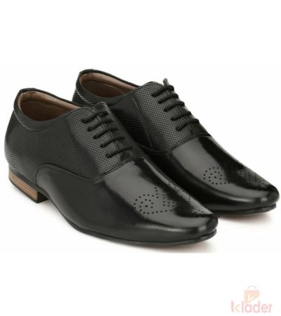 Shoematic Black formals Shoe for men